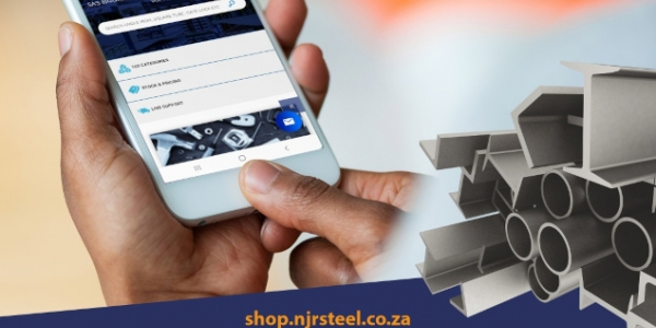Now You Can Shop Online With NJR Steel
