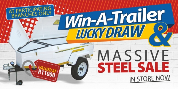 Win a Trailer Lucky Draw