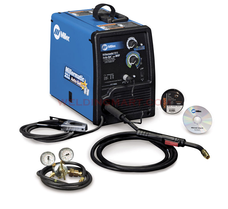 An example of a MIG/wire feed welder